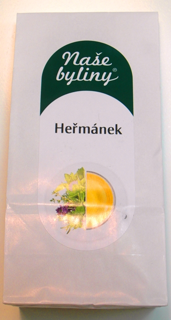 Rumanček kvet Heřmánek Kamilky čaj bylinný tea 40 g