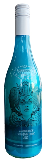 SAUVIGNON BLANC Marlborough Nový Zéland Babich forbidden wines