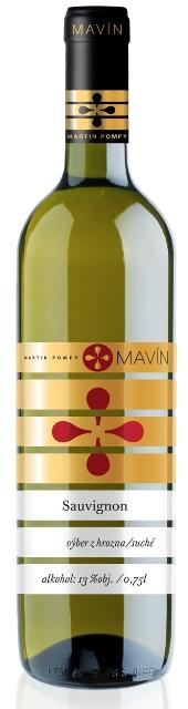 Sauvignon 2012 Mavín Martin Pomfy Neskorý Zber suché víno