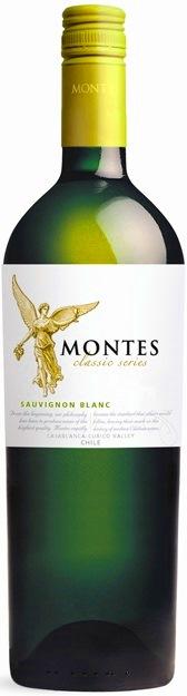 Sauvignon Blanc 2017 Classic Montes vino Chile - Čile