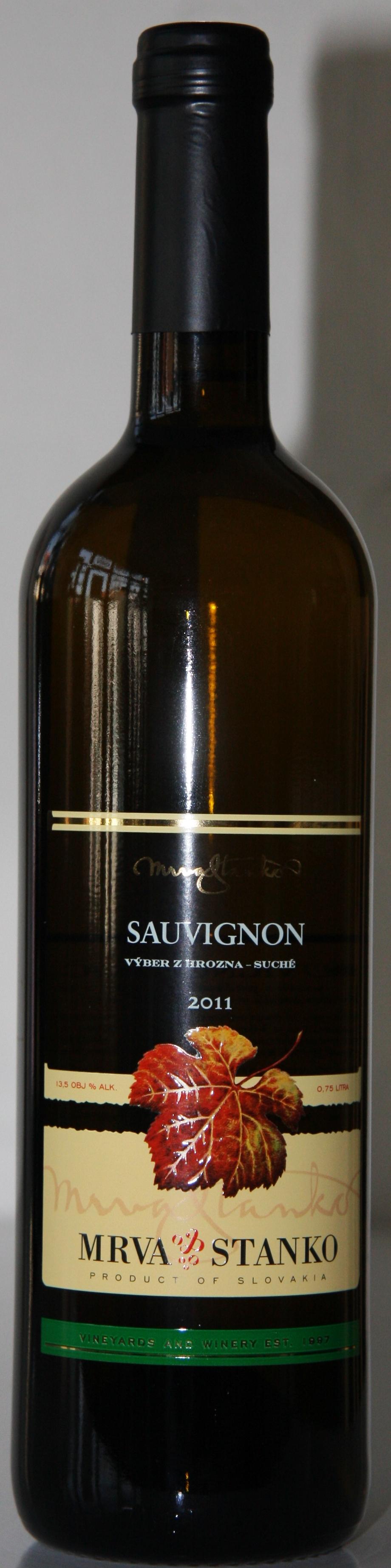 Sauvignon Mrva Stanko 2011 Výber z hrozna