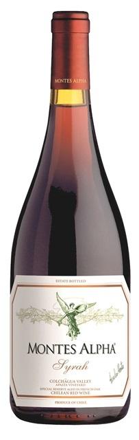 SYRAH Montes Alpha vino Čile - Chile
