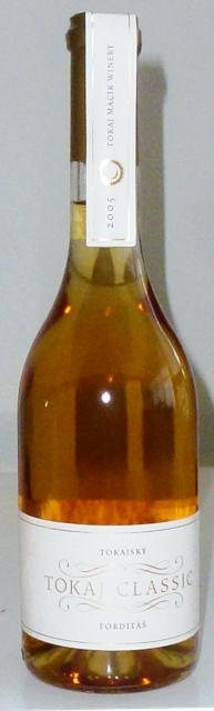 Tokajský Forditáš 2005 Tokaj Macík Winery