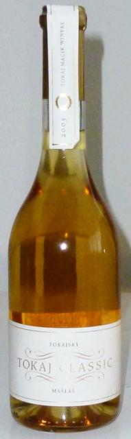 Tokajský Mašláš 2005 Tokaj Macík Winery