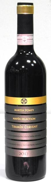 Tramín Červený 2012 Mavín Selection Martin Pomfy Bobuľový výber