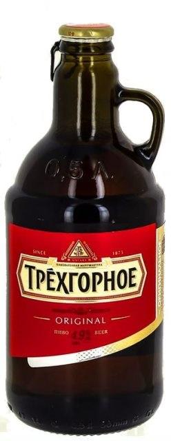 Trechgornoe Трехгорное PIVO Пиво Rusko