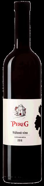 VIŠŇOVÉ 2016 ovocné víno Pereg