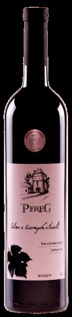 Víno z čiernych ríbezlí PEREG vinárstvo Modra