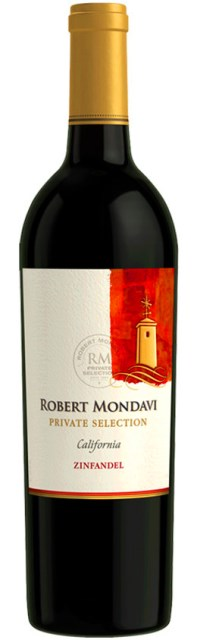 ZINFANDEL 2013 Robert Mondavi private selection California USA