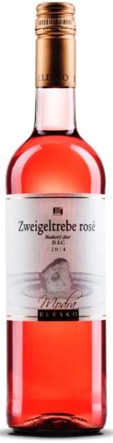 ZWEIGELTREBE ELESKO 2014 ROSÉ - ružové víno D.S.C