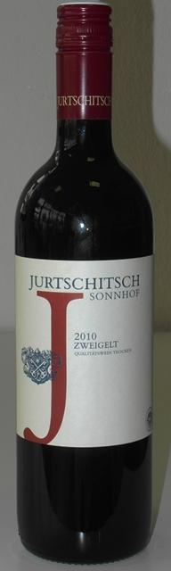 Zweigelt 2010 Jurtschitsch Sonnhof Langenlois Kamptal Rakúsko