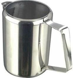 Kanvica na mlieko nerez - oceľ , 0,3 L