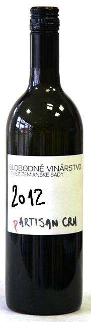 (P) ARTISAN CRU Slobodné vinárstvo 2012 Zemianske Sady cuvée