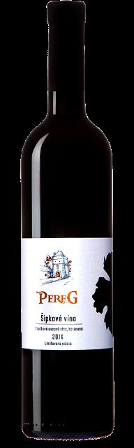 ŠÍPKOVÉ VÍNO PEREG 2014 korenené značkové ovocné víno