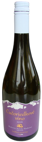 Čučoriedkové, borůvkové víno, Bluberries wine Blaubeeren wein